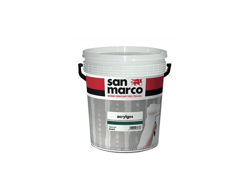 Washable water-based paint ACRYLGES by San Marco