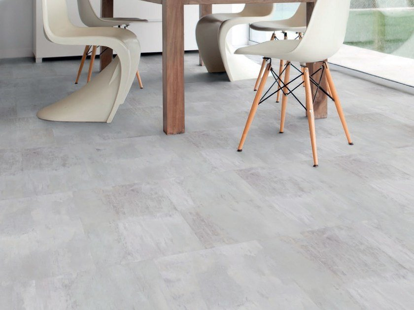 Vinyl flooring with concrete effect VIRTUO ADJUST | Flooring with concrete effect by gerflor