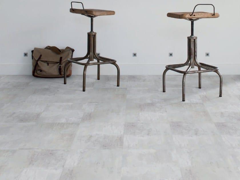 Vinyl flooring with concrete effect VIRTUO CLICK | Flooring with concrete effect by gerflor