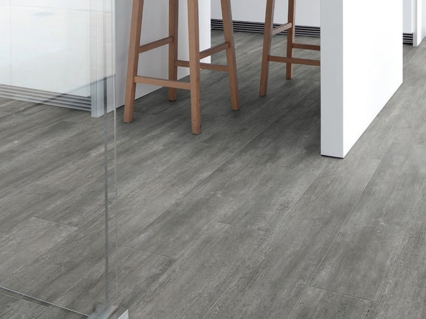 Vinyl flooring with wood effect VIRTUO ADHESIVE | Flooring with wood effect by gerflor