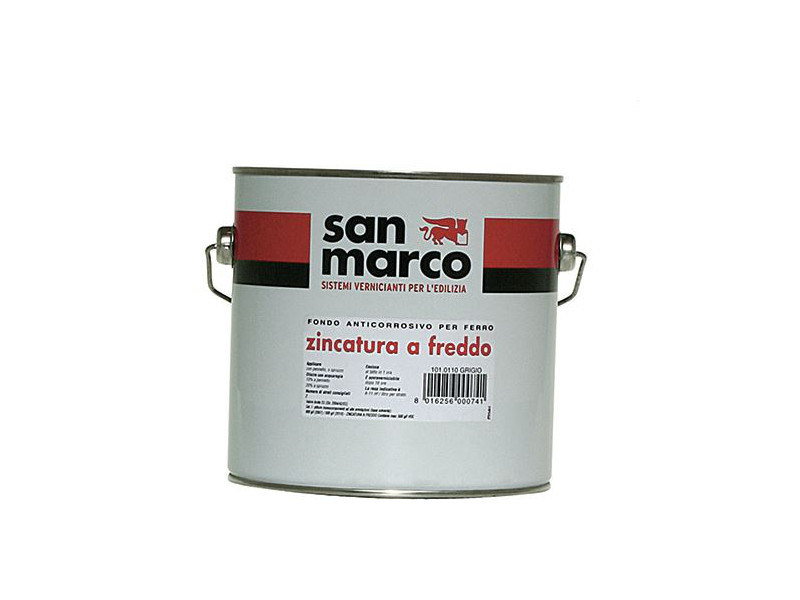 Anti-corrosive and anti-rust paint ZINCATURA A FREDDO by San Marco