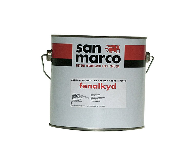 Anti-corrosive and anti-rust paint FENALKYD by San Marco