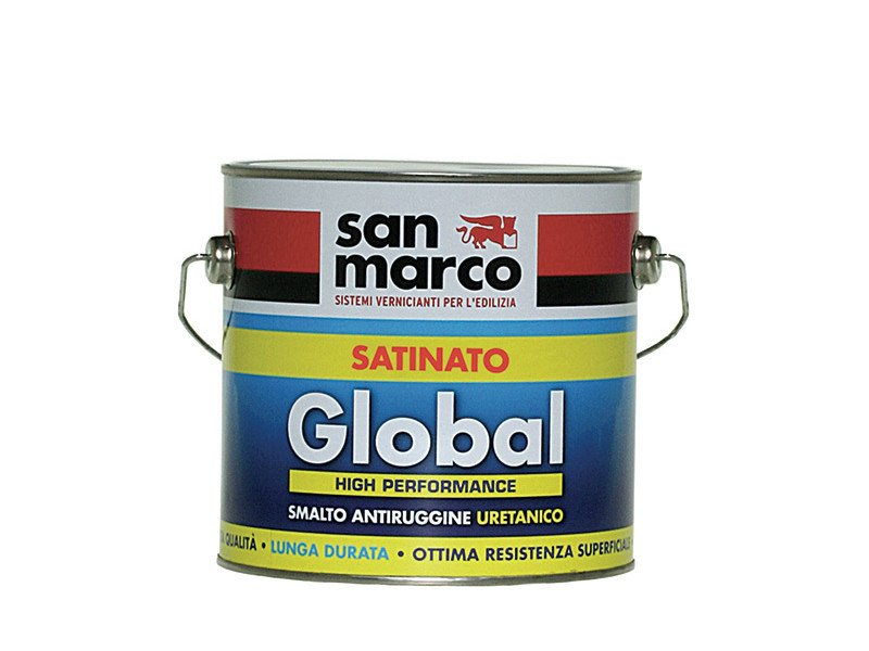 Anti-corrosive and anti-rust paint GLOBAL SATINATO by San Marco