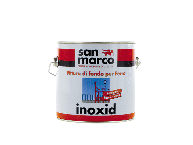 Anti-corrosive and anti-rust paint INOXID by San Marco