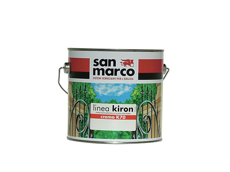 Produto antiferrugem e conversor de ferrugem CROMO K70 By San Marco