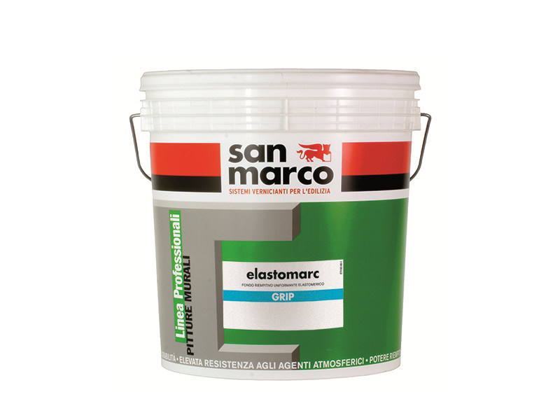 Renovating and de-humidifying additive and plaster ELASTOMARC GRIP by San Marco