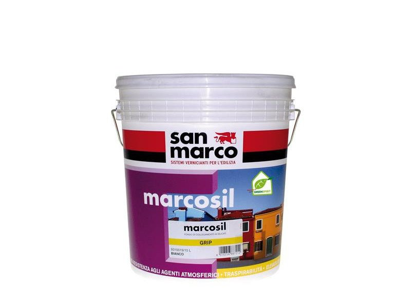 Base coat and impregnating compound for paint and varnish MARCOSIL GRIP by San Marco