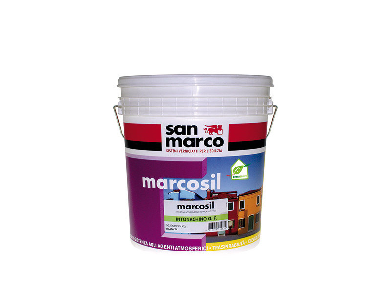 Dehumidifying plaster MARCOSIL KP 1,5 by San Marco