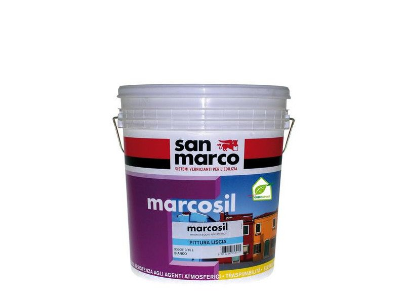Silicate paint MARCOSIL PITTURA LISCIA by San Marco