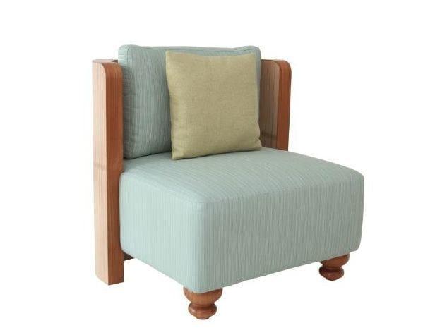Upholstered armchair TEABU | Armchair by WARISAN