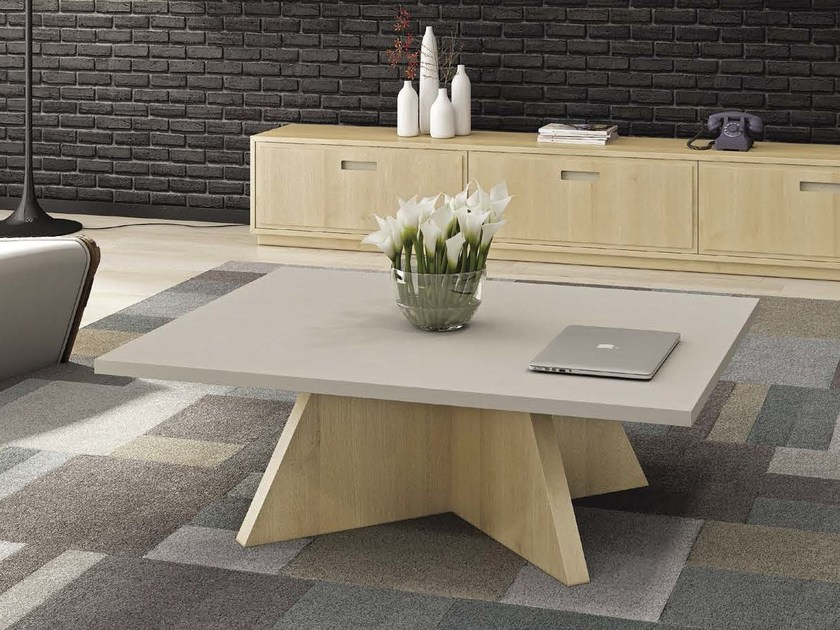 Low coffee table EVERWOOD by Domus Arte