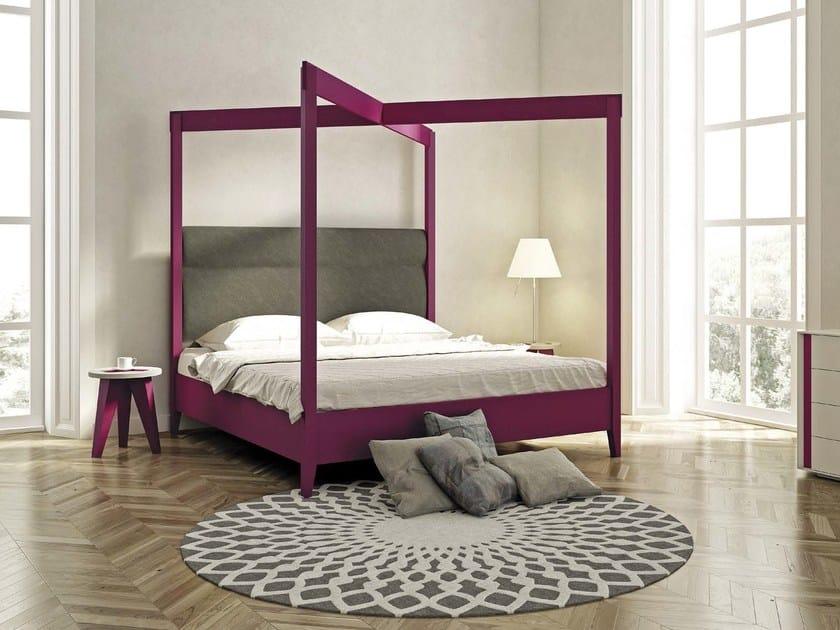 Letto matrimoniale a baldacchino jasmine by domus arte design enrico bedin - Baldacchino letto ...