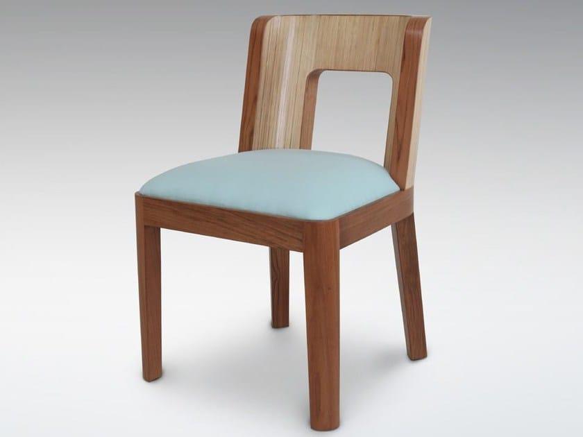 Wooden chair TEABU | Chair by WARISAN