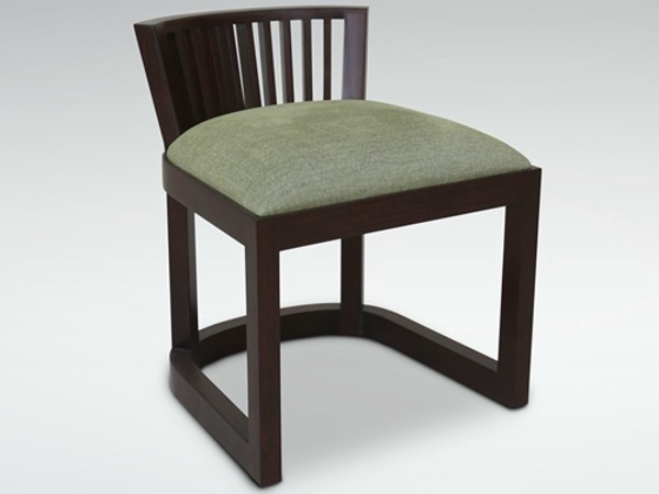Sled base wooden chair KOROGATED | Chair by WARISAN