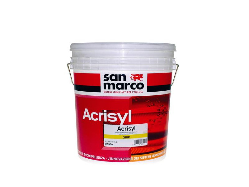 Base coat and impregnating compound for paint and varnish ACRISYL GRIP by San Marco