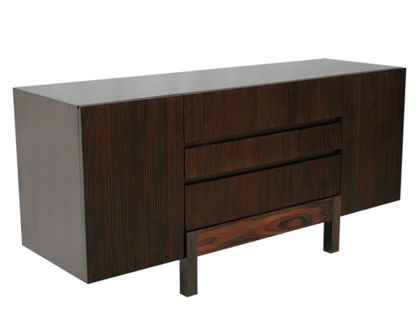Wooden sideboard with doors with drawers EDG - E | Sideboard by WARISAN