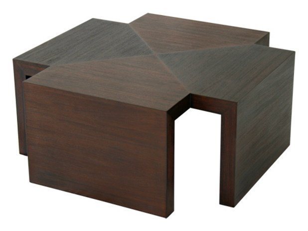 Wooden coffee table for living room CUBULAR | Coffee table by WARISAN