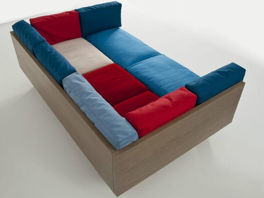 Fabric sofa OTTOMAN SOFA XL by Colé Italia