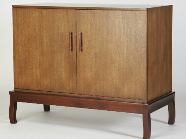 Wooden sideboard with doors DUO | Sideboard by WARISAN
