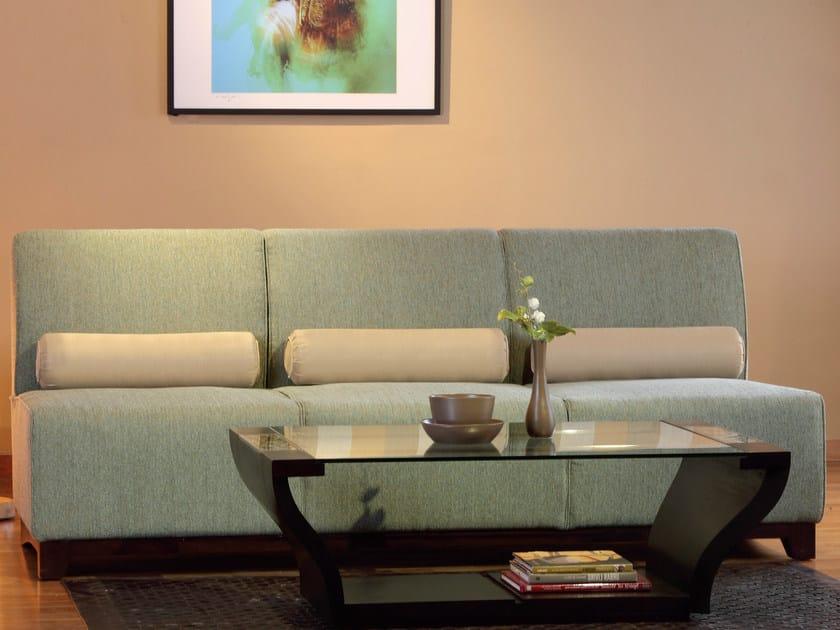 3 seater fabric sofa SAMAYA | 3 seater sofa by WARISAN