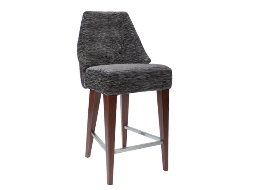 Upholstered chair with footrest SAMAYA | Chair by WARISAN