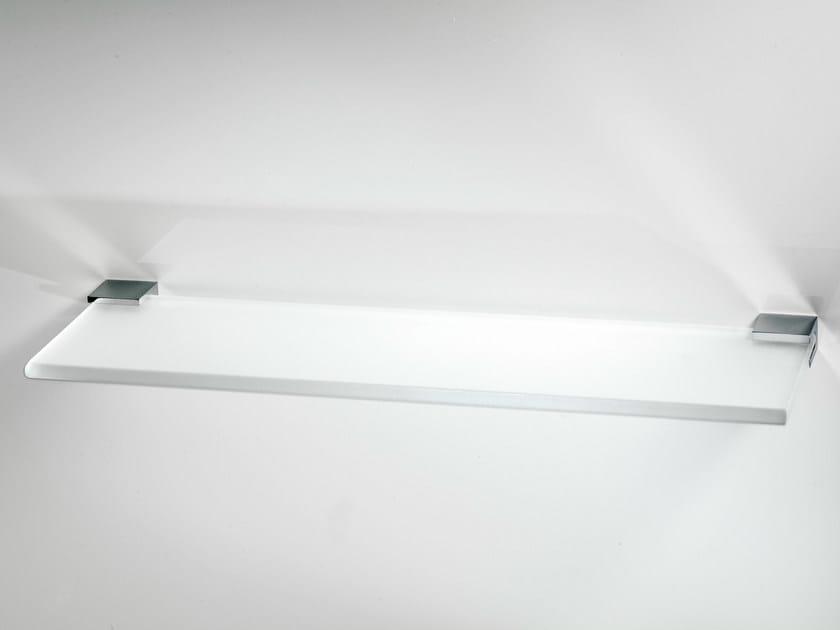 Glass bathroom wall shelf CO GLA40 by DECOR WALTHER