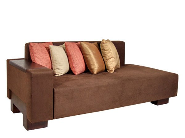 Leather day bed MA   Day bed by WARISAN