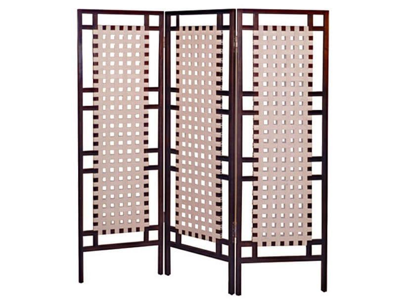 Wooden screen SANTAI | Screen by WARISAN