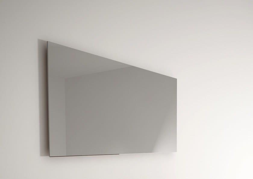 Rectangular wall-mounted bathroom mirror BILLIE   Mirror by KARPENTER