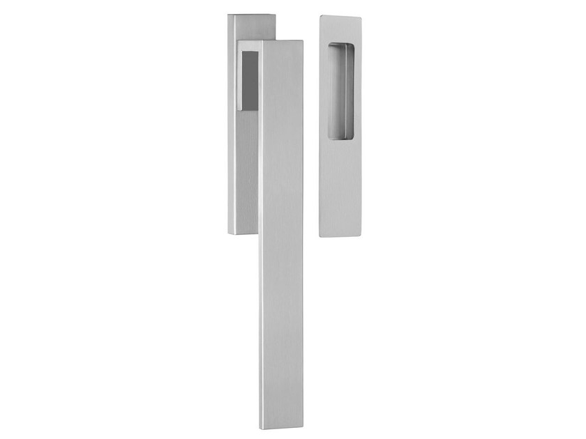Brushed steel pull handle RIBBON | Brushed steel pull handle by Formani