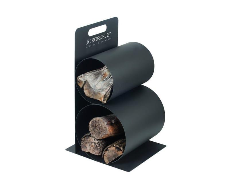 Metal Log holder FIREPLACES AND HEATERS | Metal Log holder by JC Bordelet
