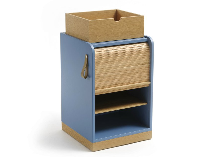Storage unit with casters TAPPARELLE | Storage unit with casters by Colé Italia