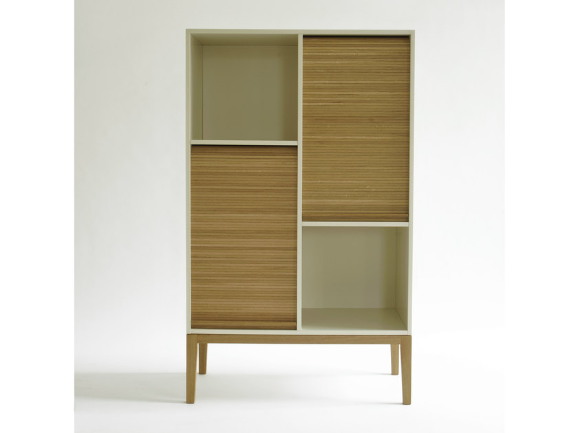 Open wall-mounted bookcase TAPPARELLE | Bookcase by Colé Italia