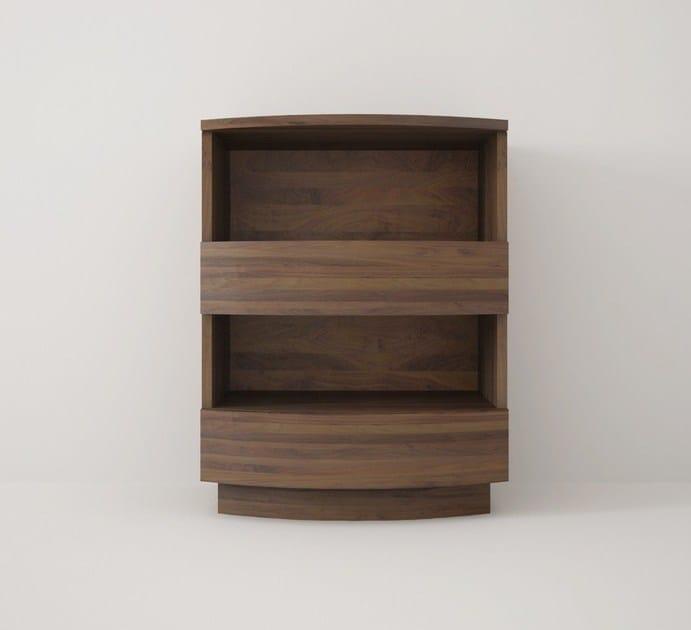 Floorstanding wooden bathroom cabinet with drawers MILES | Bathroom cabinet by KARPENTER
