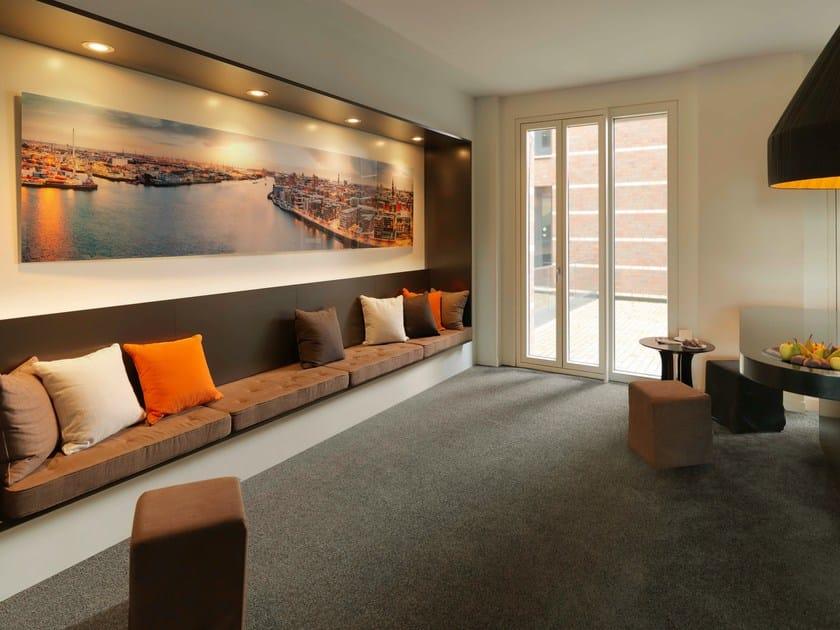 Solid-color carpeting VALORA by Vorwerk Teppichwerke
