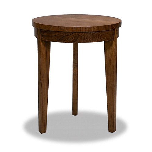 Round wooden coffee table for living room CHEJU | Coffee table by WARISAN
