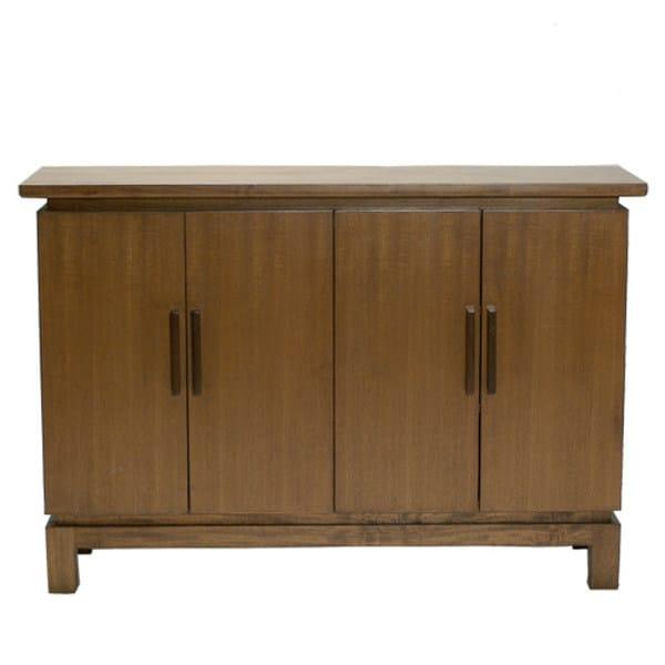 Wooden sideboard with doors CHEJU | Sideboard by WARISAN