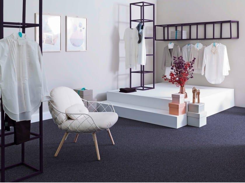 Solid-color carpeting STRADA | Solid-color carpeting by Vorwerk Teppichwerke