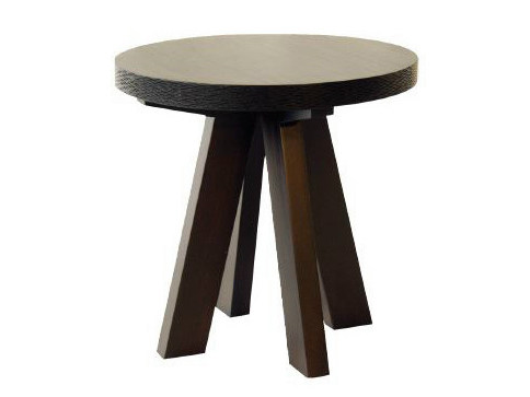 Round wooden coffee table for living room NEWPORT | Coffee table by WARISAN