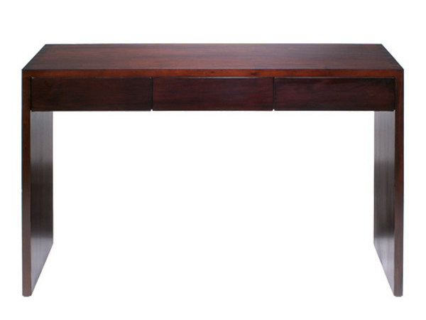 Rectangular wooden console table with drawers MINIMAL | Console table by WARISAN