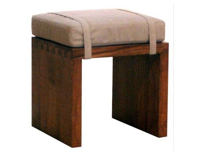 Wooden stool MINIMAL | Stool by WARISAN