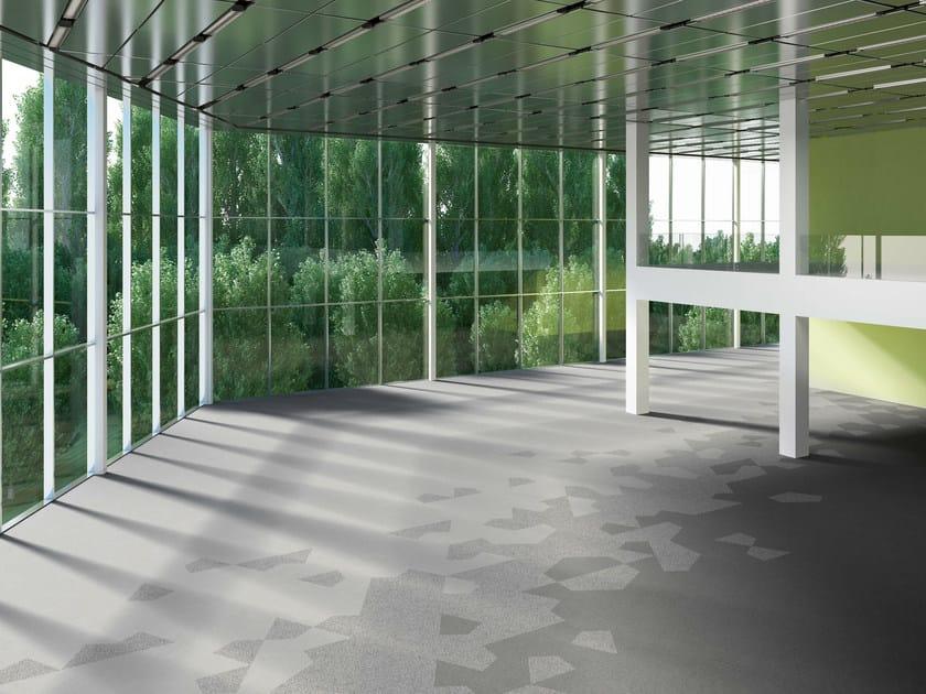 Patterned carpeting CRYSTAL by Vorwerk Teppichwerke
