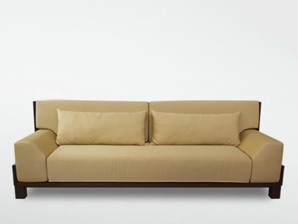 3 seater fabric sofa MIRAI | Sofa by WARISAN