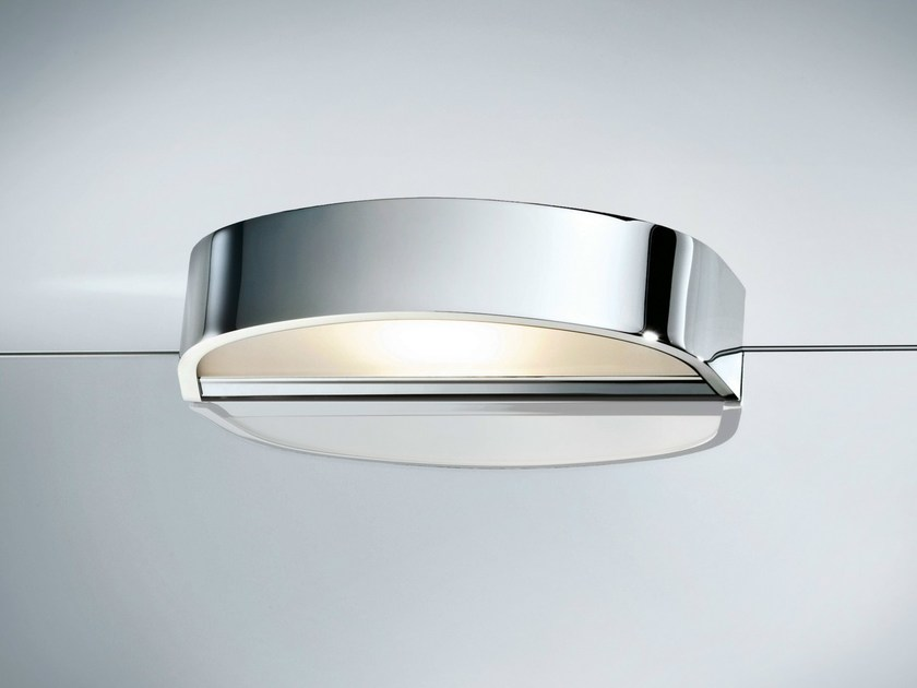 Mirror lamp with clamp WAVE 1-23 by DECOR WALTHER