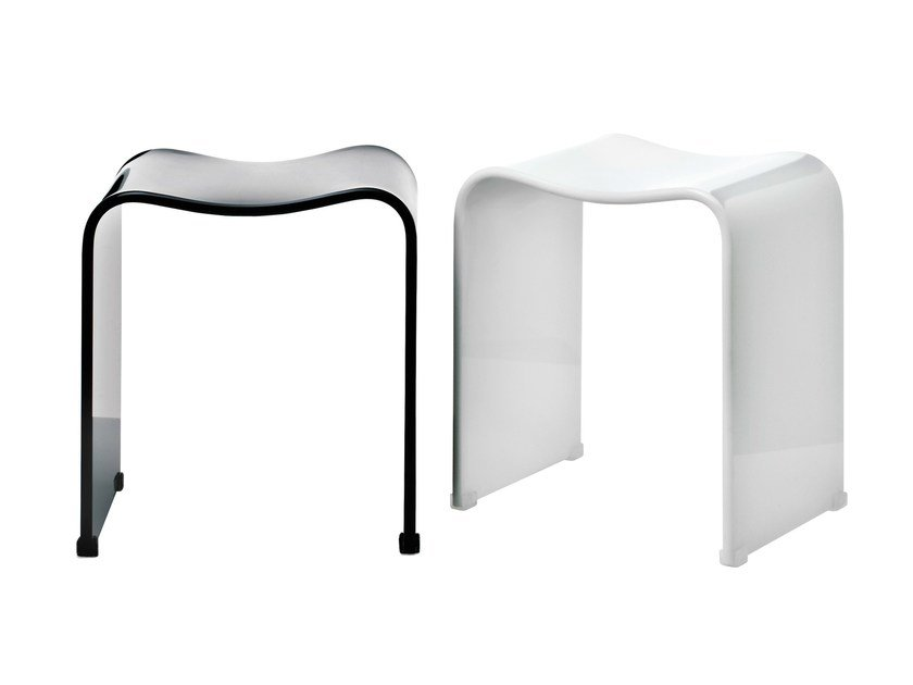 Bathroom stool DW 80 by DECOR WALTHER