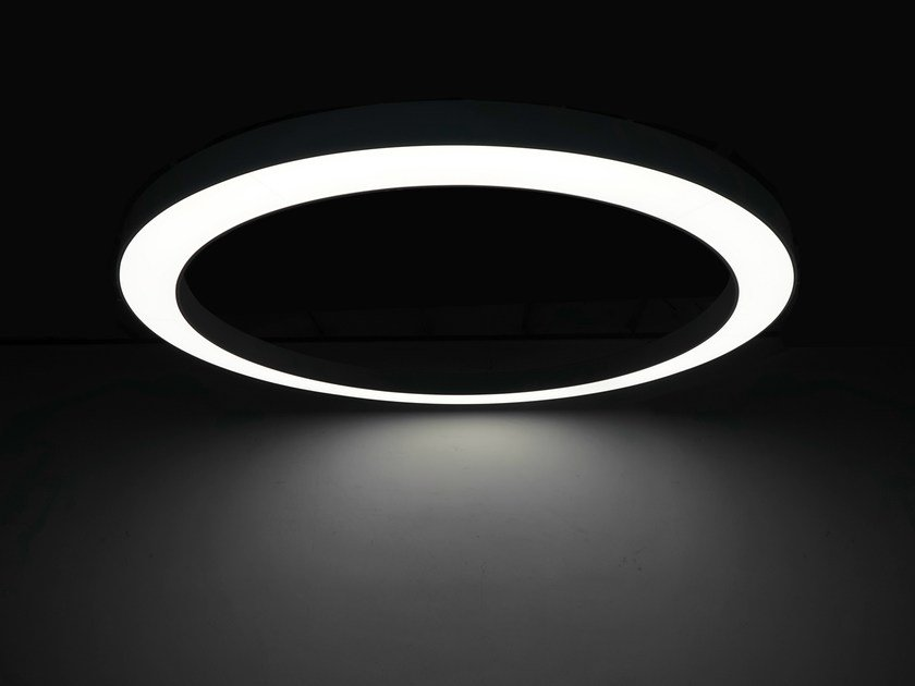 A Led Light Lampada Sospensione Large Neonny Circle Qrtdhs