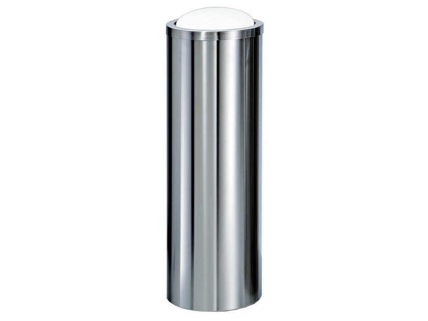 Metal bathroom waste bin DW 1024 by DECOR WALTHER