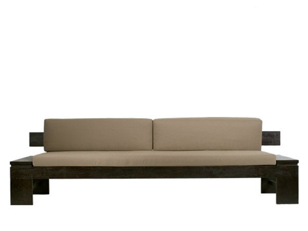 Sofa NEO PRIMITIVE | 3 seater sofa by WARISAN