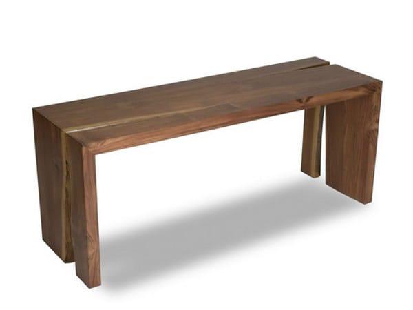 Teak bench IJO | Bench by WARISAN