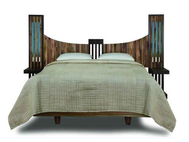 Igloo wooden double bed IJO   Bed by WARISAN